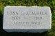Frances Edna <I>Garst</I> Stauffer