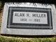Profile photo:  Alan H Miller