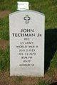 """Profile photo:  John X """"Curly"""" Techman"""