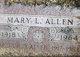 Profile photo:  Mary Louise <I>Listz</I> Allen