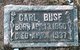 Profile photo:  Carl Buse