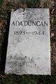 Profile photo:  Ada Duncan