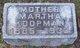 Martha <I>Boda</I> Koopman
