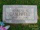 """Marjorie E """"Margie"""" <I>Turner</I> Campbell"""