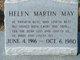 Profile photo:  Hellen Elizabeth <I>Martin</I> May