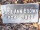 Profile photo:  Abbie Ann Brown