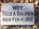 "Profile photo:  Alice Matilda ""Tillie"" <I>LaCosse</I> Baldwin"