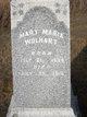 Mary Maria <I>Buell</I> Wolhart