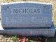 Tessie E. <I>McFarland</I> Nicholas