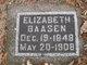Profile photo:  Elizabeth <I>Schmitz</I> Baasen