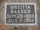 Profile photo:  Brigitta M. Baasen