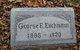 Profile photo:  George Ernest Eschmann