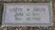 Hattie <I>Watts Wagoner</I> Smith