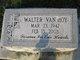 Walter Lee Vanhoy