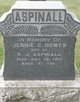 Jennie C. <I>Howes</I> Aspinall