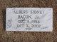 Profile photo:  Albert Sidney Bacon, Jr