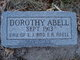 Profile photo:  Dorothy Abell