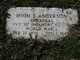 Pvt Irvin S. Anderson