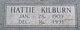 Hattie Kilburn <I>Hefner</I> Mayes