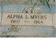 Alpha Lewis Myers