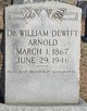 Dr William Dewitt Arnold