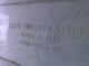 Ruth Anna <I>Swallow</I> Sykes