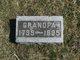 """Johann Georg """"Grandpa"""" Dittmar"""