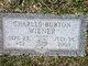 """Lieut Charles Burton """"Chuck"""" Wiener"""