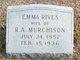 Emma <I>Rives</I> Murchison