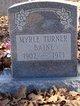 Myrle <I>Turner</I> Baine