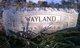 Frank W Wayland