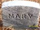 Mary Unknown