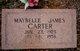 Profile photo:  Maybelle <I>James</I> Carter