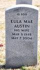 Profile photo:  Eula Mae Austin