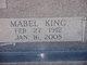 Profile photo:  Mabel <I>King</I> Wolfe