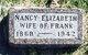 """Nancy Elizabeth """"Lizzy"""" <I>Sutliffe</I> Jackson"""