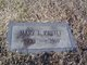 Mary Lillian <I>Shropshire</I> Pruitt