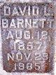 David Lafayette Barnett
