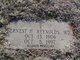 Dr Ernest Harold Reynolds