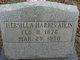 Profile photo:  Hersilla <I>Harris</I> Aikin