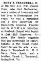 Huey Benton Treadwell, Sr