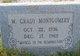 """William Grady """"Bub"""" Montgomery"""