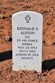 Profile photo:  Donald E. Austin, Sr