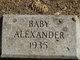 Profile photo:  Baby Alexander