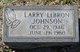 Larry Lebron Johnson