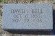 Profile photo:  David Franklin Bell