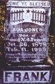 Profile photo:  Ada Jones Frank