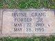 Irvine Craig Porter, Jr