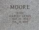 """Harvey Lewis """"Buddy"""" Moore"""