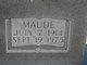 Maude Bell <I>Glenn</I> Lawler